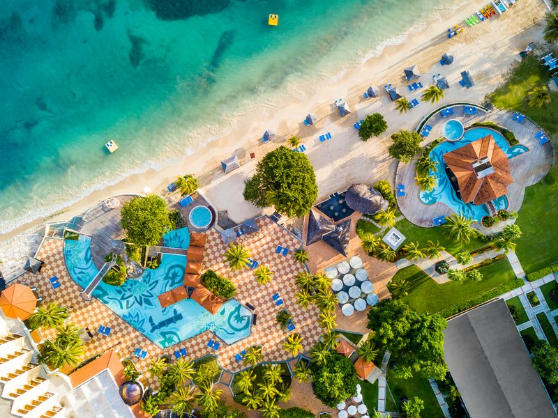 Jewel Dunns River Adult Beach Resort -Property Aerial<br/>Image from Leonardo