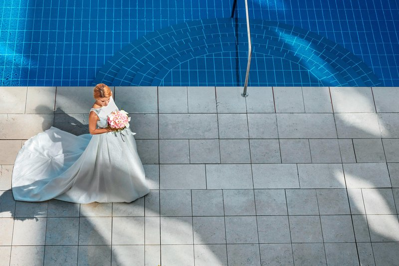 Hotel President Wilson; a Luxury Collection Hotel-Wedding At The Pool Garden<br/>Image from Leonardo