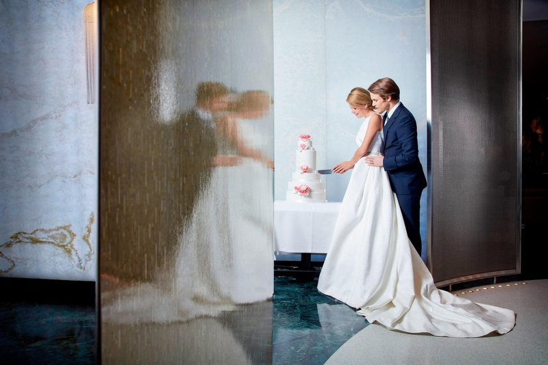 Hotel President Wilson; a Luxury Collection Hotel-Wedding Cake Ceremony<br/>Image from Leonardo