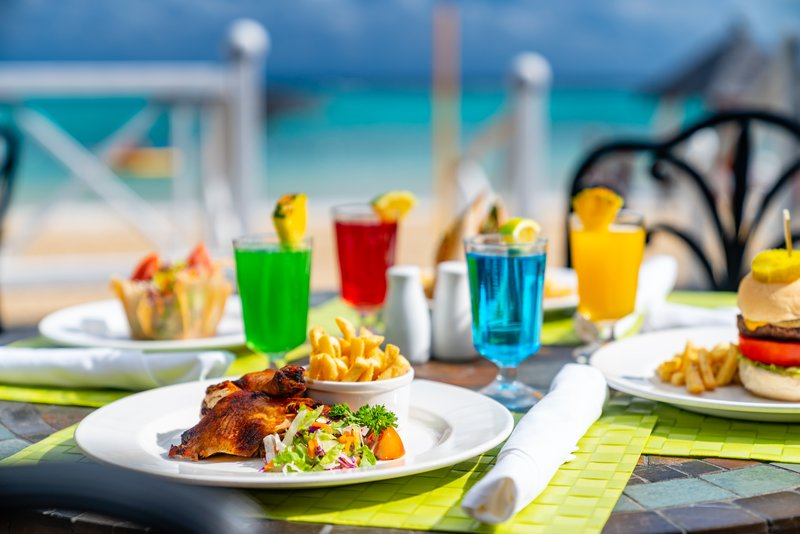 Jewel Dunns River Adult Beach Resort -Aquamarina Restaurant Food and Beverage<br/>Image from Leonardo