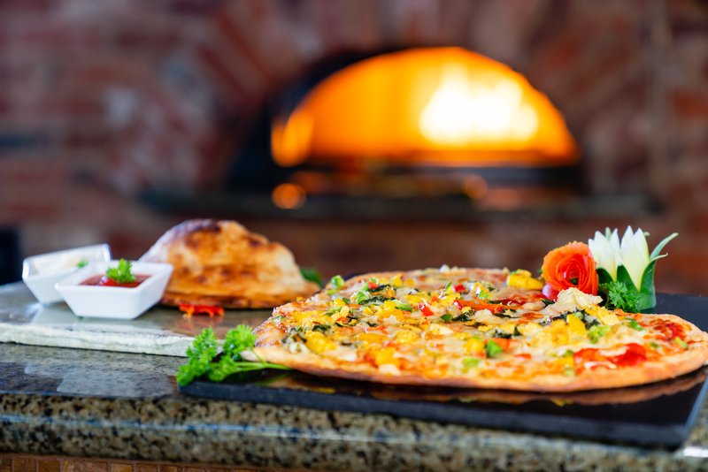 Jewel Dunns River Adult Beach Resort -Court Jesters Wood Fire Pizza<br/>Image from Leonardo