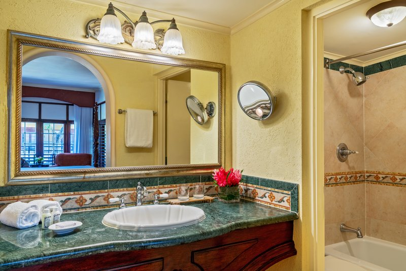 Jewel Dunns River Adult Beach Resort -Emerald Lanai King Bathroom<br/>Image from Leonardo