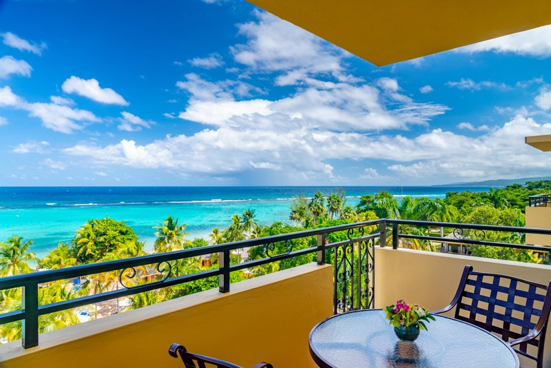 Jewel Dunns River Adult Beach Resort -Sapphire Ocean View King Balcony<br/>Image from Leonardo