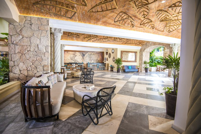 Panama Jack Resorts Playa del Carmen - Lobby Seating Area <br/>Image from Leonardo