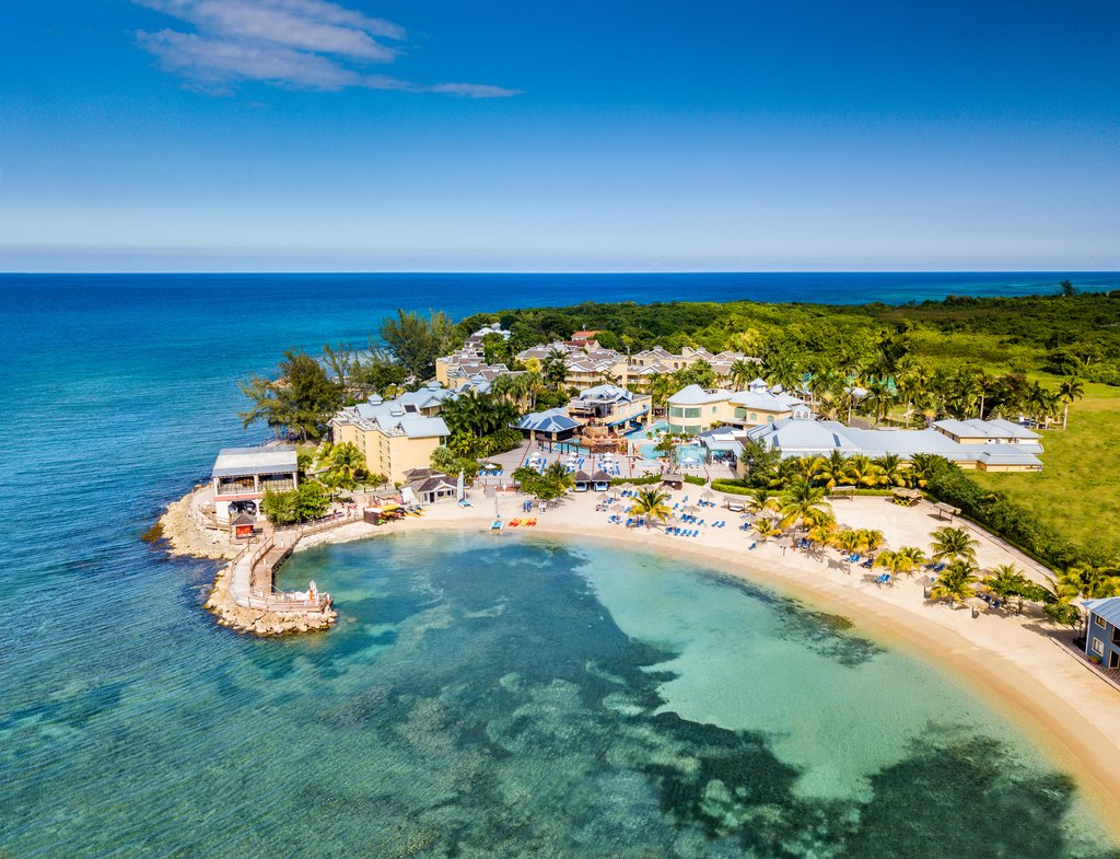 Jewel Paradise Cove Adult Beach Resort -Aerial Resort<br/>Image from Leonardo