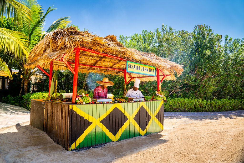Jewel Paradise Cove Adult Beach Resort -Seaside Jerk Hut<br/>Image from Leonardo