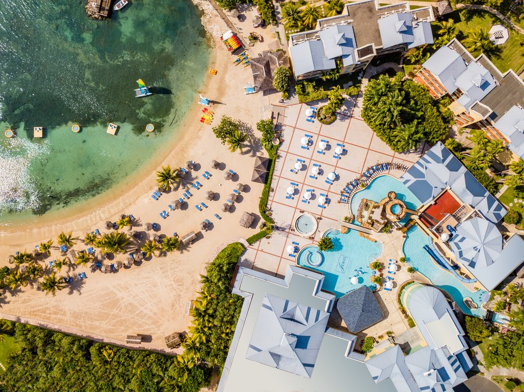 Jewel Paradise Cove Adult Beach Resort -Aerial Pool<br/>Image from Leonardo