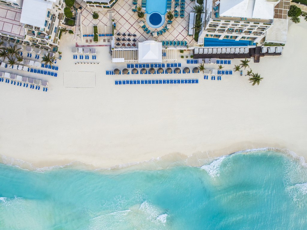 Panama Jack Resorts Cancun - Beach Aerial <br/>Image from Leonardo