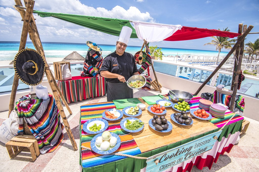 Panama Jack Resorts Cancun - Guacamole Lesson <br/>Image from Leonardo