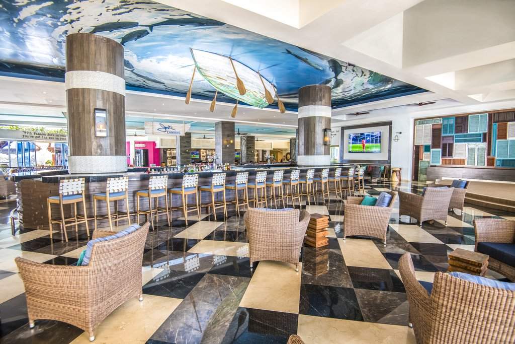 Panama Jack Resorts Cancun - Jack's Landing Bar Seating <br/>Image from Leonardo