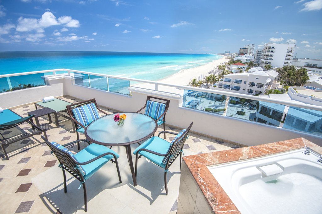 Panama Jack Resorts Cancun - Presidential Suite Balcony <br/>Image from Leonardo