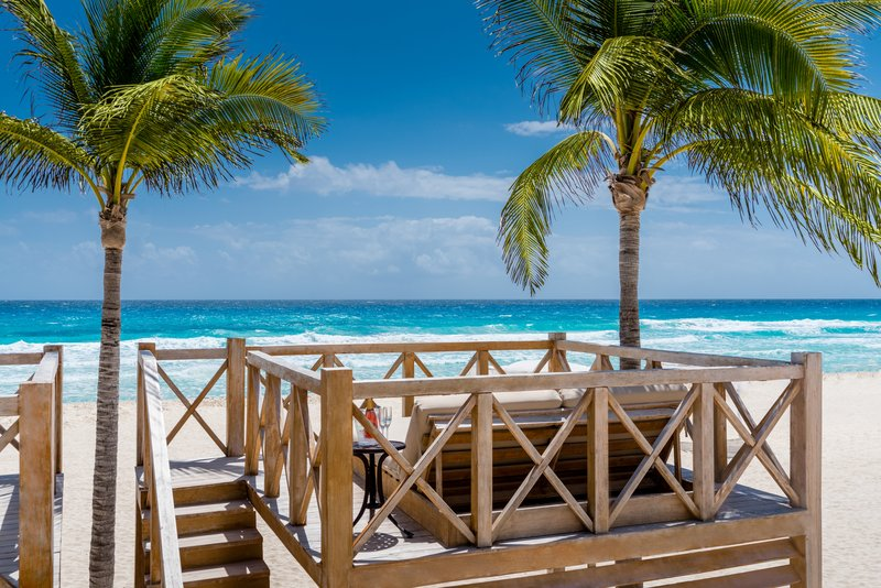 Hyatt Zilara Cancun - Beach Cabana <br/>Image from Leonardo