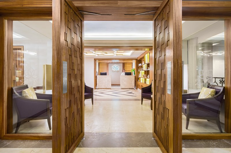 Hyatt Zilara Cancun - Zen Spa Reception <br/>Image from Leonardo