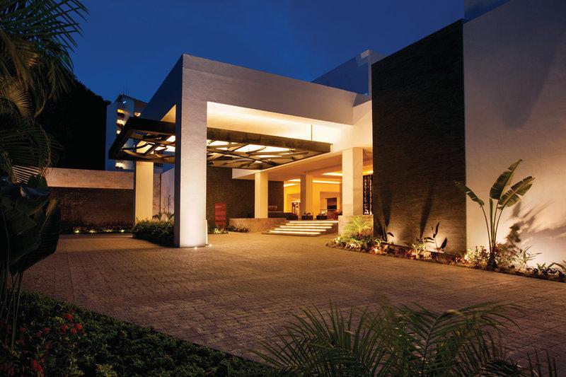 Hyatt Ziva Puerto Vallarta - Front of the Resort <br/>Image from Leonardo