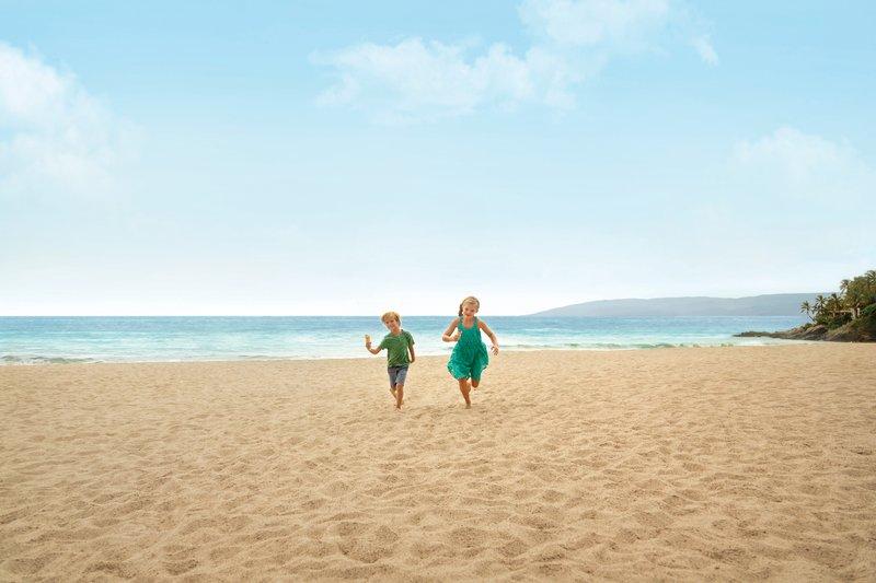 Hyatt Ziva Puerto Vallarta - Kids Running on the Beach <br/>Image from Leonardo