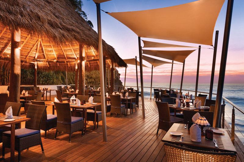 Hyatt Ziva Puerto Vallarta - Blaze Restaurant Sunset <br/>Image from Leonardo