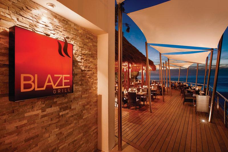 Hyatt Ziva Puerto Vallarta - Blaze Restaurant Entrance <br/>Image from Leonardo