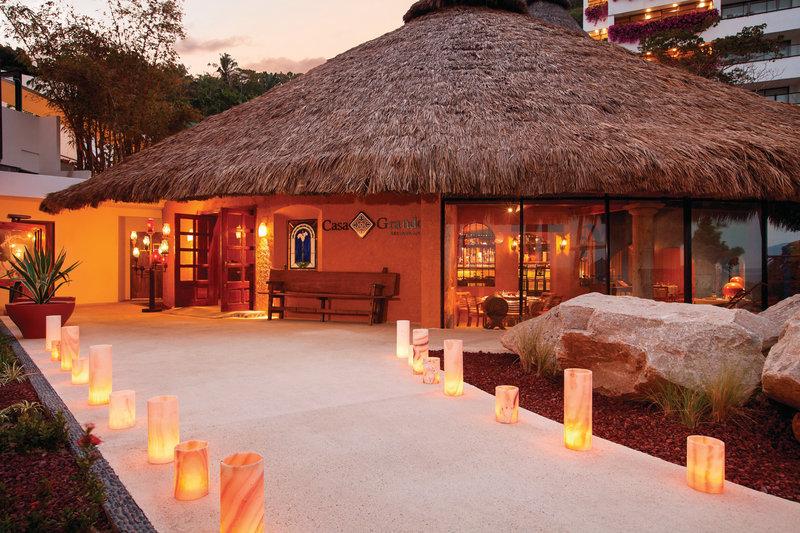 Hyatt Ziva Puerto Vallarta - Casa Grande Restaurant Entrance <br/>Image from Leonardo