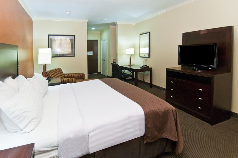 Holiday Inn Hotel & Suites Lake Charles South-King Bed Guest Room<br/>Image from Leonardo