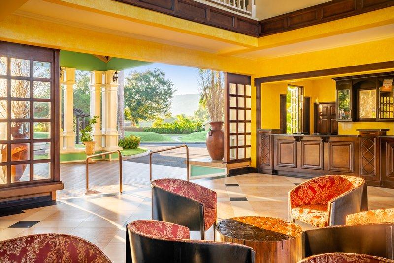 Jewel Paradise Cove Adult Beach Resort  - Lobby Front Desk <br/>Image from Leonardo