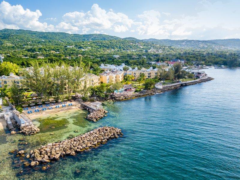 Jewel Paradise Cove Adult Beach Resort  - Aerial Quiet Beach <br/>Image from Leonardo