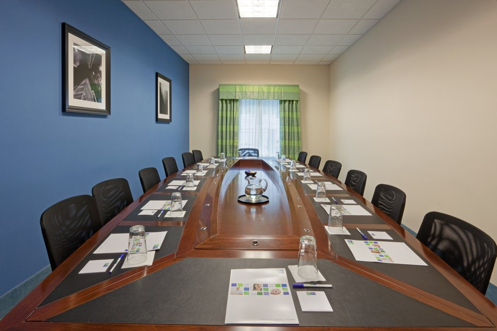 Holiday Inn Express Plainville - Foxboro Area-15 person boardroom for your next meeting<br/>Image from Leonardo