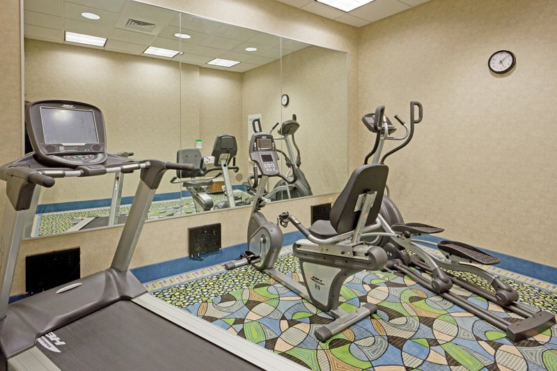 Holiday Inn Express Plainville - Foxboro Area-New  fitness equipment with personal TVs<br/>Image from Leonardo