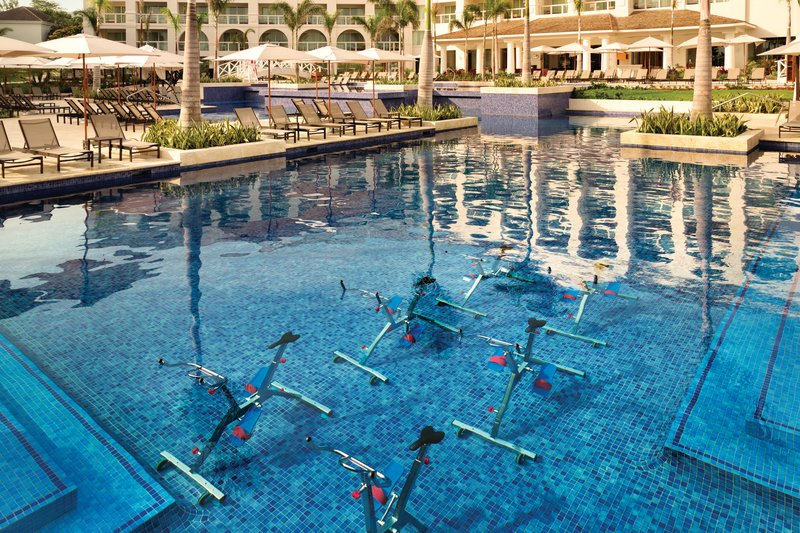 Hyatt Zilara Rose Hall-Hyatt Zilara Rose Hall Aqua Bicycle Workout<br/>Image from Leonardo