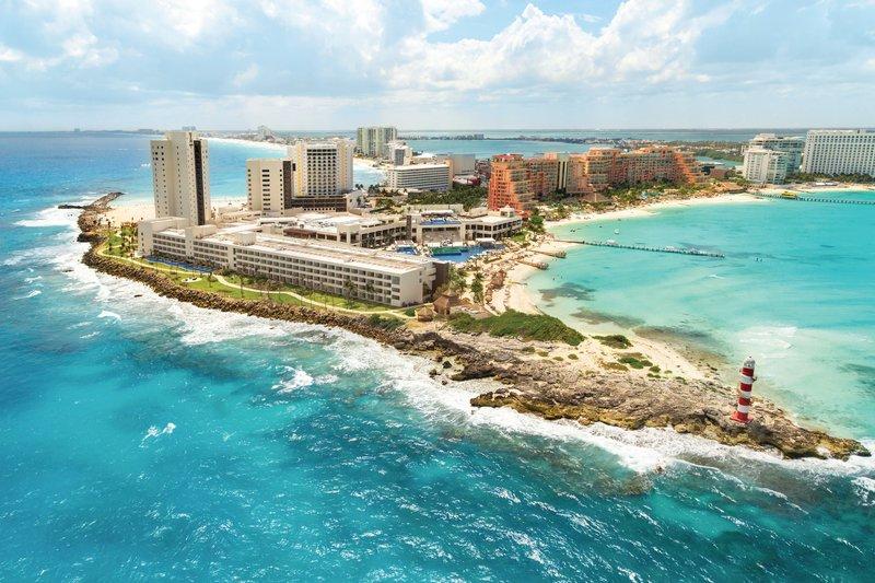 Hyatt Ziva Cancun  - Hyatt Ziva Cancun Aerial <br/>Image from Leonardo