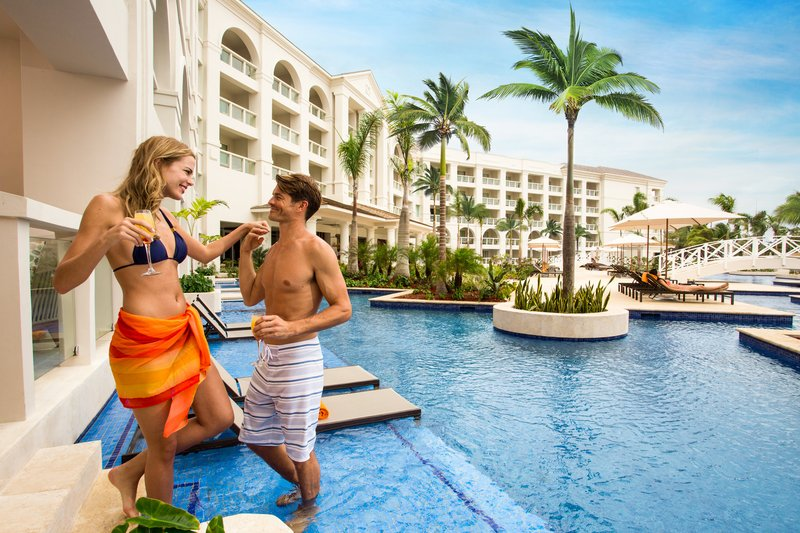 Hyatt Zilara Rose Hall-Hyatt Zilara Rose Hall Couple In Swim Up Exterior<br/>Image from Leonardo