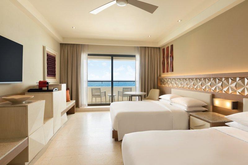 Hyatt Ziva Cancun  - Hyatt Ziva Cancun Club Ocean Front Double Room <br/>Image from Leonardo