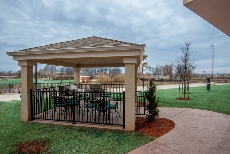 Candlewood Suites Midwest City-Guest Patio<br/>Image from Leonardo