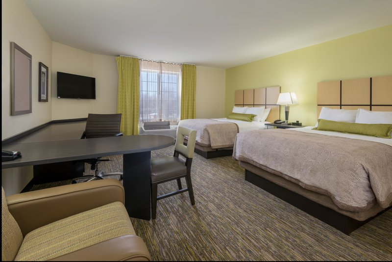 Candlewood Suites Midwest City-Two Queen Studio Suite<br/>Image from Leonardo