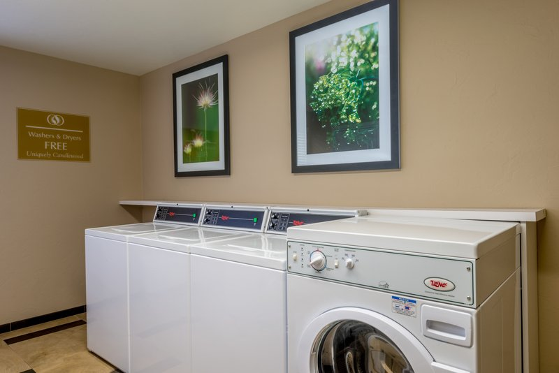 Candlewood Suites Midwest City-Laundry Facility<br/>Image from Leonardo