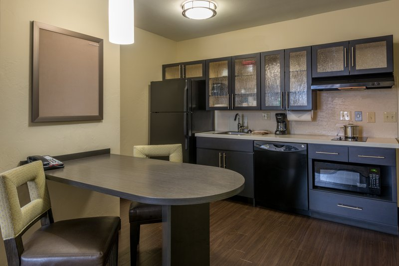 Candlewood Suites Midwest City-One Bedroom King Suite kitchen<br/>Image from Leonardo