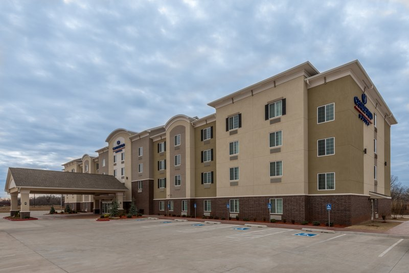 Candlewood Suites Midwest City-Hotel Exterior<br/>Image from Leonardo