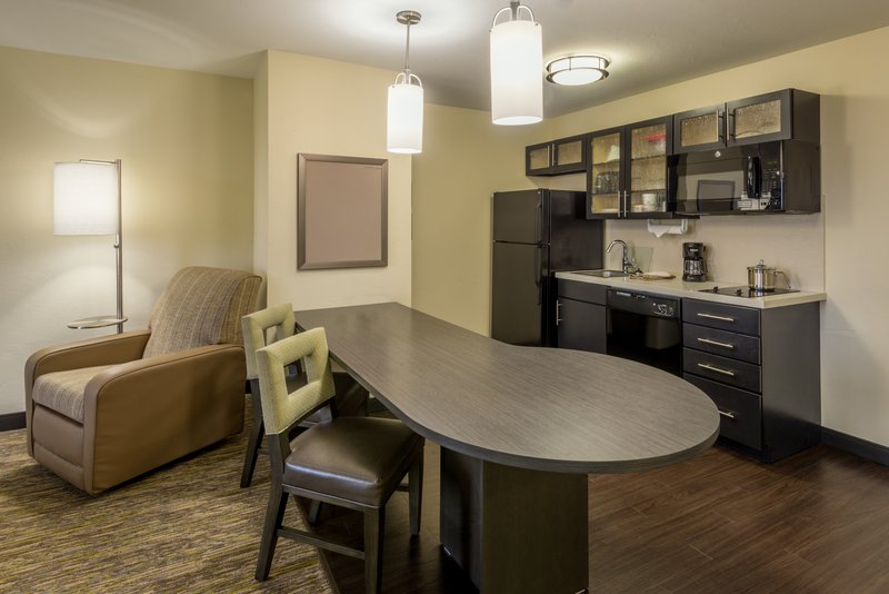 Candlewood Suites Midwest City-ADA/Handicapped accessible Kitchen<br/>Image from Leonardo