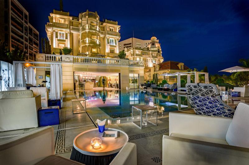 HOTEL METROPOLE MONTE CARLO-Odyssey by Night <br/>Image from Leonardo