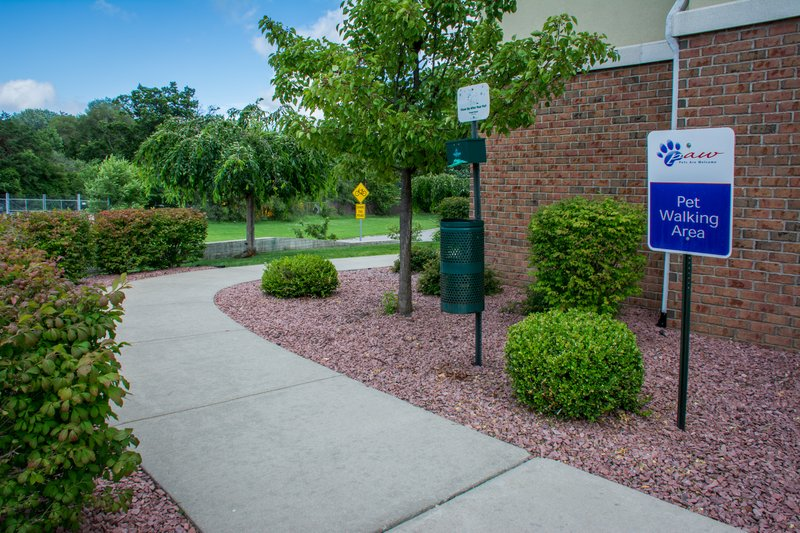 Candlewood Suites South Bend Airport-We are Pet Friendly!  Dog Walking Area<br/>Image from Leonardo