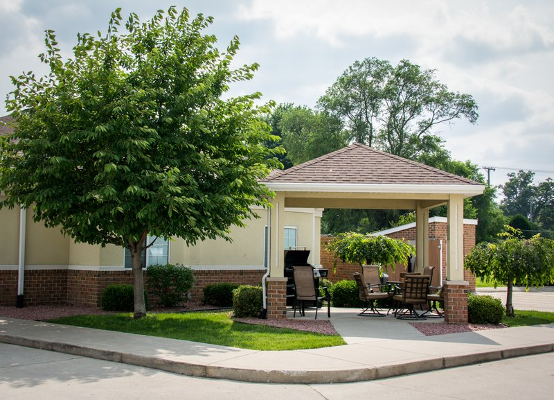 Candlewood Suites South Bend Airport-Gazebo Area for Relaxing<br/>Image from Leonardo