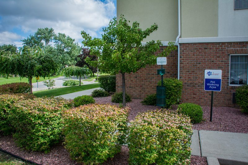 Candlewood Suites South Bend Airport-Dog Walking Area<br/>Image from Leonardo