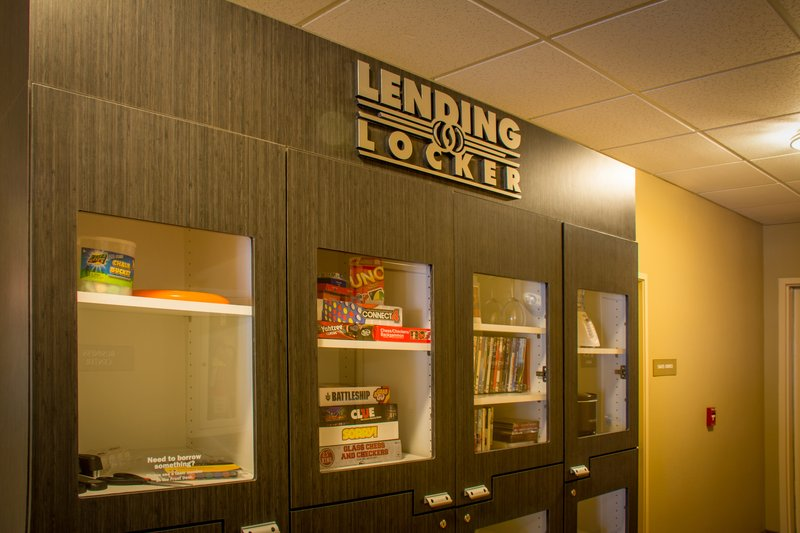Candlewood Suites South Bend Airport-The Lending Locker- Featuring Small Kitchen Appliances, DVD's, Etc<br/>Image from Leonardo