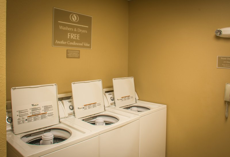 Candlewood Suites South Bend Airport-Free Laundry Facilities for Guests<br/>Image from Leonardo