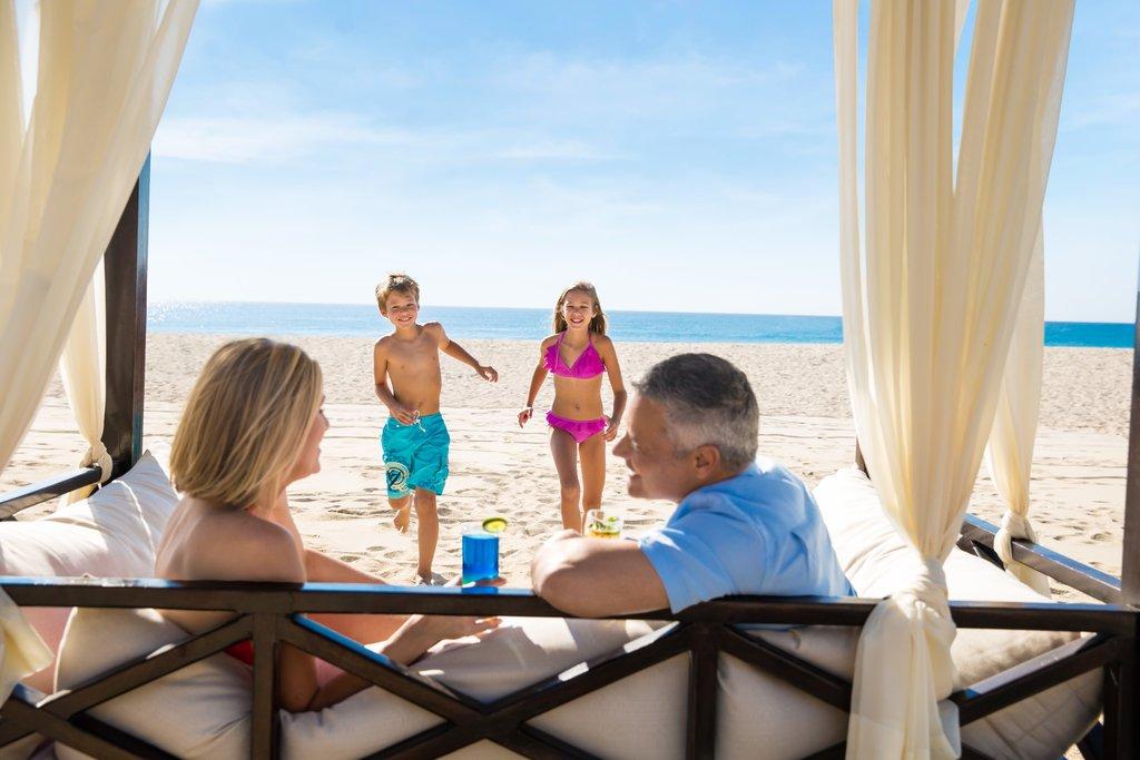 Hyatt Ziva Los Cabos - Hyatt Ziva Los Cabos Beach Cabana Family <br/>Image from Leonardo