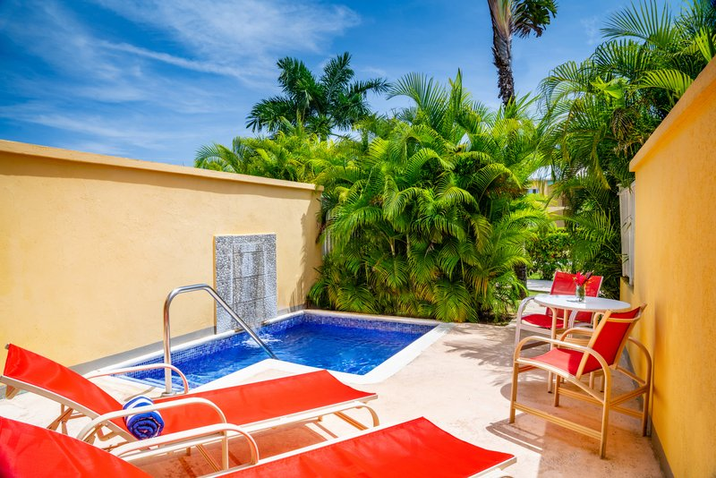Jewel Runaway Bay Beach And Golf Resort -Plunge Pool Jr Suite Concierge View<br/>Image from Leonardo