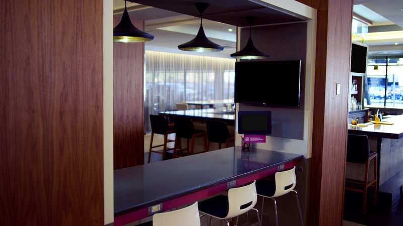 Crowne Plaza Downtown Denver-Lobby Work-Space With The Lockwood Kitchen & Bar Access<br/>Image from Leonardo