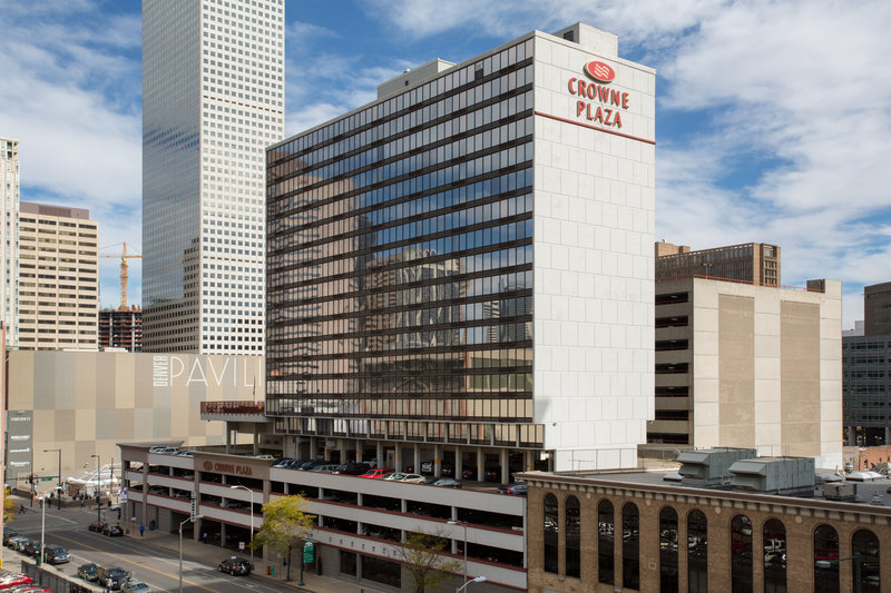 Crowne Plaza Downtown Denver-Welcome to the Crown Plaza Denver <br/>Image from Leonardo