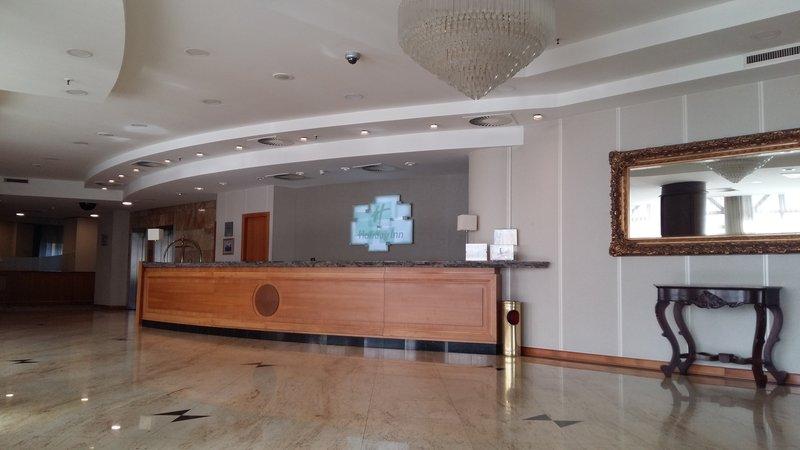 Holiday Inn Skopje-Front Desk<br/>Image from Leonardo