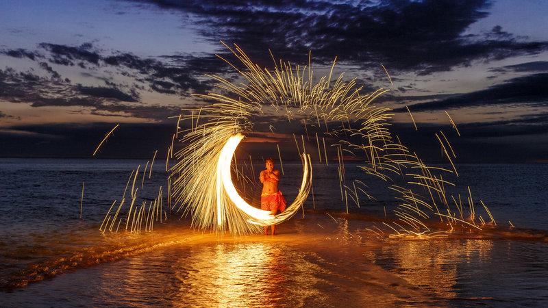 InterContinental Fiji Golf Resort & Spa-Fire Dancing<br/>Image from Leonardo