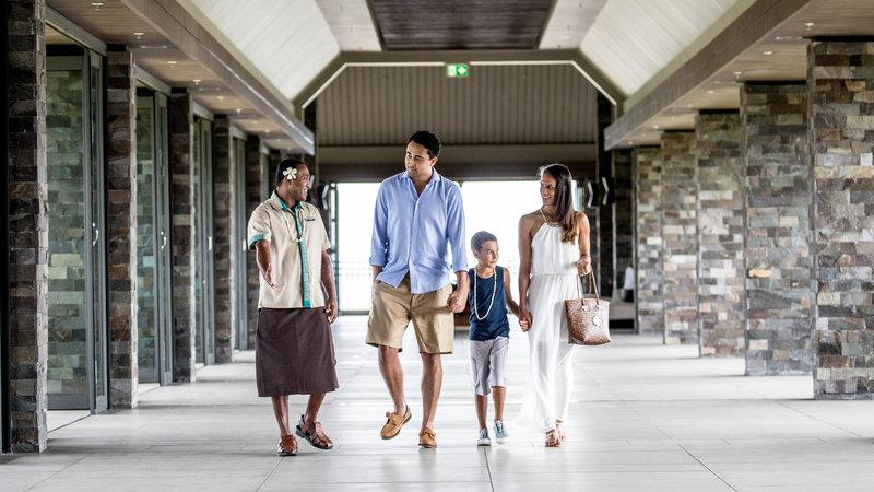 InterContinental Fiji Golf Resort & Spa-Arrival Escort at the Resort Lobby<br/>Image from Leonardo